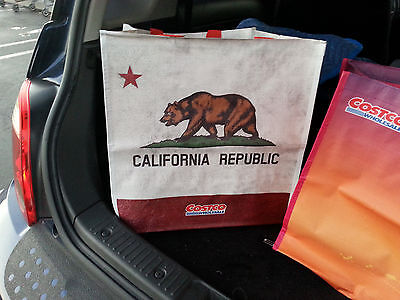 """Costco 16x16"""" reusable grocery tote school shopping travel bag reuseable eco"""