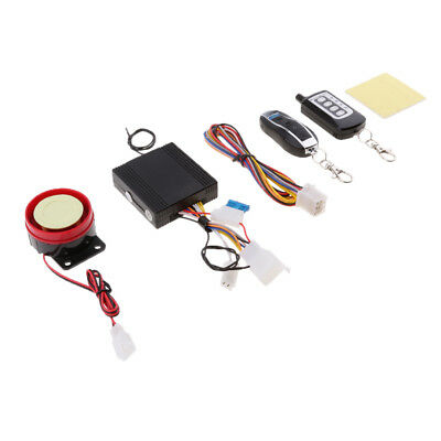 Two Way Motorcycle Alarm Anti-theft Security System Remote Control Start
