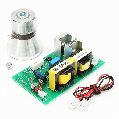 28KHz 100W Ultrasonic Cleaning Transducer Cleaner +Power Driver Board 220VAC