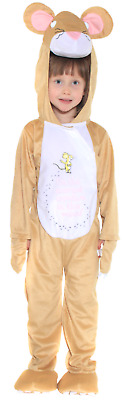 Girls Boys Childrens Gruffalo Mouse World Book Day Fancy Dress Costume 3-10yrs