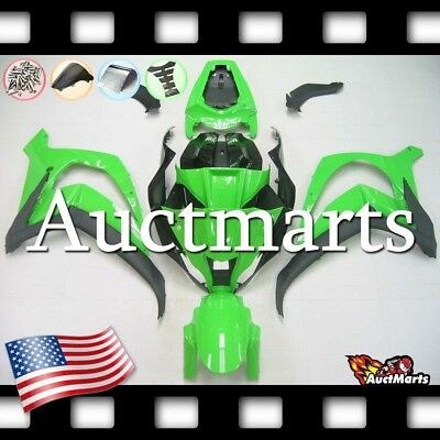 For Kawasaki Ninja ZX10R 2011-2015 12 13 14 Injection Plastic Fairing Kit 3p6 XB