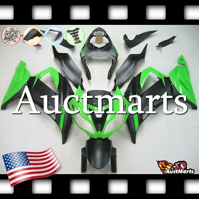 For Kawasaki Ninja ZX6R 2013-2017 14 15 16 17 Injection Mold Fairing Kit 3v6 XB