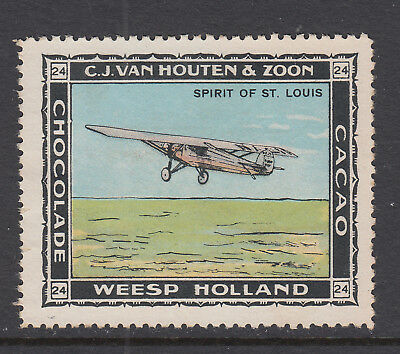 Spirit Of St Louis - (24) - Weesp Holland - Airplane - Cinderellas