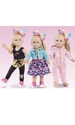 *My Life As Jojo Siwa* 3 PACK EXCLUSIVE CLOTHES OUTFITS DANCE MOMS NO BOX
