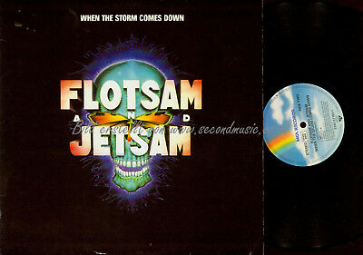LP-- Flotsam And Jetsam ‎– When The Storm Comes Down