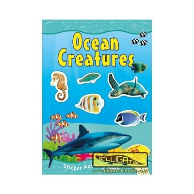 Amazing World Ocean Creatures Sticker Activity Book Over 70 Reusable Stickers