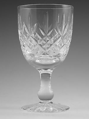 "EDINBURGH Crystal - Old LOMOND Cut - Wine Glass / Glasses - 4 3/4"" (2nd)"