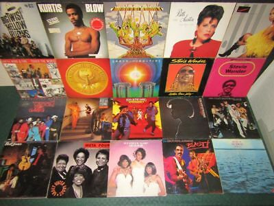 Schallplatten-Sammlung, Vinyl Collection: Black Music Soul Funk Disco - 171 LP's