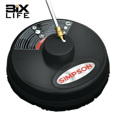 "NEW Simpson 80166 15"" 3,600 PSI Surface Cleaner with Quick Connect Plug"