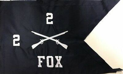 US Army Truppenabzeichen Infantry Platoon Guidon Flag Flagge