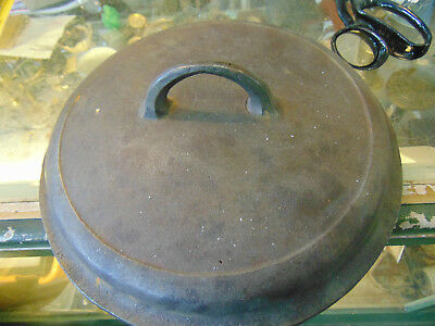 Griswold  Cast Iron Vintage Antique no.8 Cover for Dutch Oven Pot  1288A