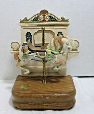 WILLITTS Looff Indian Pony Jumper American Carousel Third Edition Tobin Fraley
