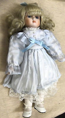 """Brinn's 15"""" What The World Needs Now Is Love Musical Porcelain Doll #2NTLB57509"""