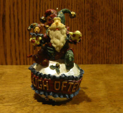"Boyds Carver's Choice Ornament 370206 JESTANICK...LAUGH OFTEN, 4.25""  CHRISTMAS"
