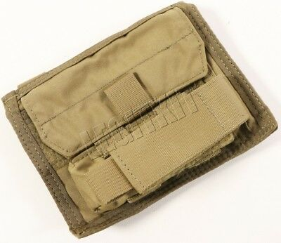 T3 Gear Admin Leaders Chest Storage Pouch MOLLE - Coyote Brown (T3-AP) Navy SEAL