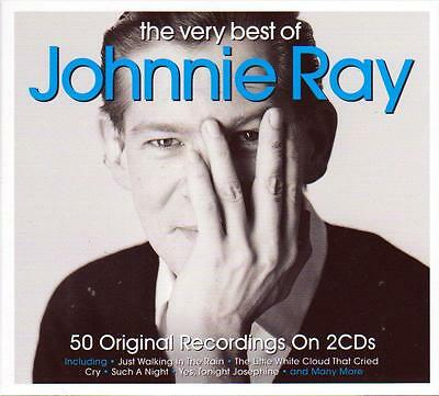 The Very Best Of Johnnie Ray - 50 Original Recordings (New Sealed 2Cd)