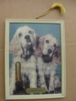 Community Bakery Thermometer Featuring 2 Cocker Spaniels, Works