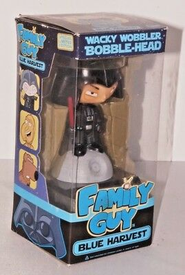 Wacky Wobbler Bobble Head Family Guy Star Wars Blue Harvest NEW Darth Stewie