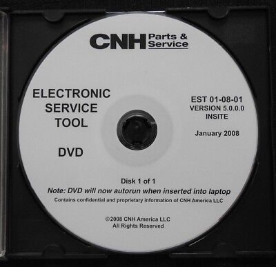 NEW HOLLAND CASE manuals Electronic Service Tool CNH 8 6 2017data