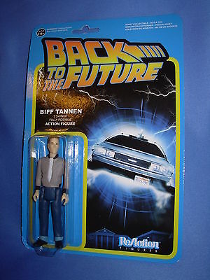 "BACK TO THE FUTURE Biff Tannen Funko ReAction 3.75""  FIGURE"