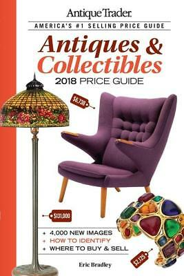 2018 Antique Trader Antiques Collectibles Price Guide ~4000 COLOR Photos Krause