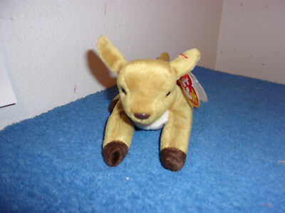 Ty Beanie Babies..whisper  D.o.b  April 5-97..(Tush 1998)..error Retired..#386-E