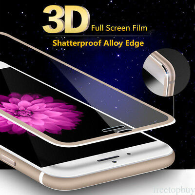For iPhone X & 6S 7 + 8 Plus  Real 3D 9H Tempered Glass FUll Screen Protective