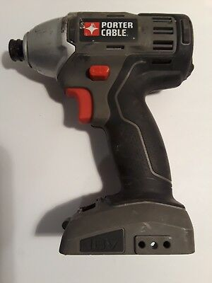 Porter Cable 18 volt impact driver for parts or repair