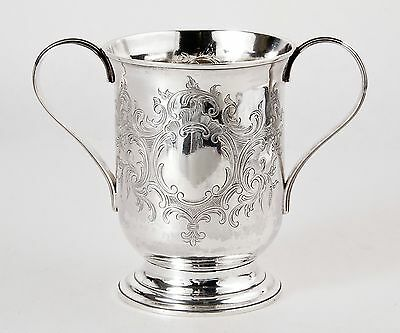 EXTREMELY RARE 1792 George III Double Handle Sterling Loving Cup