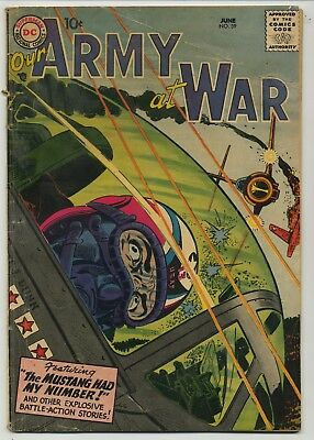 Our Army At War 59 Early Issue
