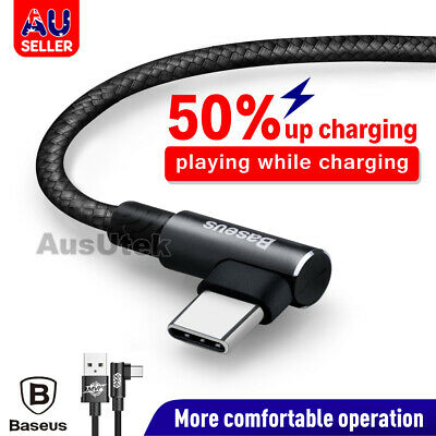 Strong Braided USB Type-C 3.1 USB-C to Male Data Snyc Charger Charging Cable