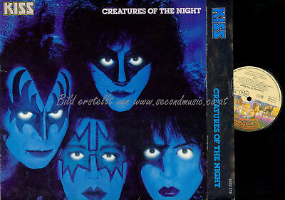 LP-- Kiss – Creatures Of The Night   // OIS // 6302219 GERMANY