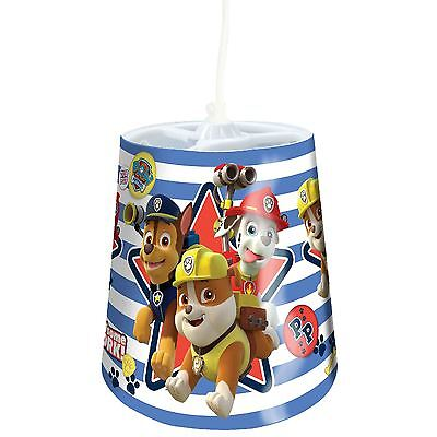 Paw Patrol Tapered Ceiling Light Shade Kids Bedroom Official New Free P+P