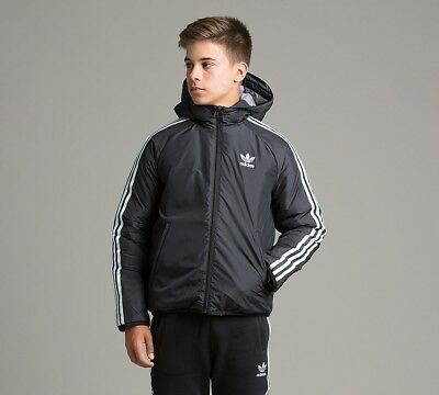 Junior Adidas Entry Prize Black/White Jacket RRP £64.99