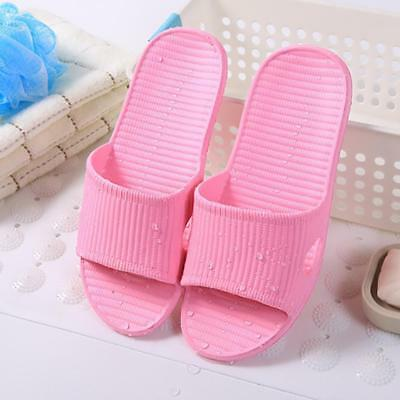 Womens Mens Bathroom Bathing Non-slip Slippers Summer Home Pro Shower Sandal Pop