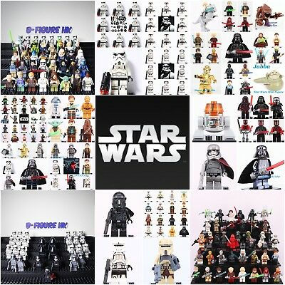 All New Star Wars Superhero The last jedi Mini figure Set Fit Lego minifigures