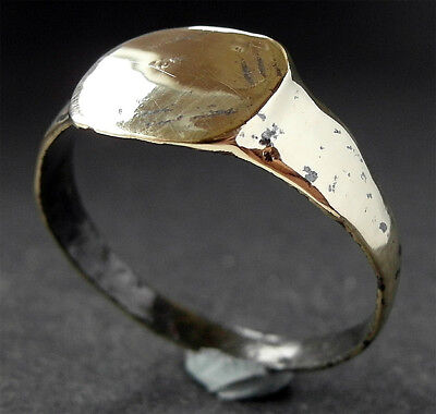 LARGE GENUINE ROMAN Æ RING - wearable - Found nr River Ribble