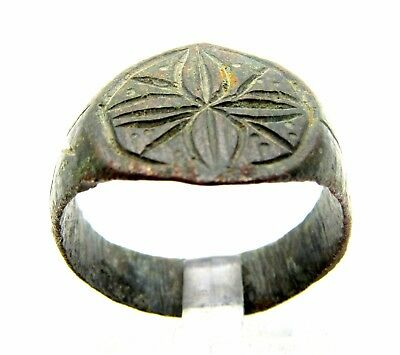 Knights Templar Ring With Star Of Bethlehem - Wearable - Free Gift Bag- F368