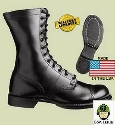 Corcoran US Airborne Army Military Leather boots Lederstiefel Stiefel USA 41.5