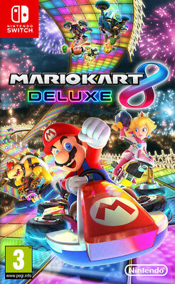 Mario Kart 8 Deluxe (Switch)  BRAND NEW AND SEALED - IN STOCK - QUICK DISPATCH