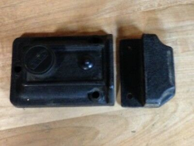 Antique Vintage Cast Iron Yale Deadbolt Door Lock Part