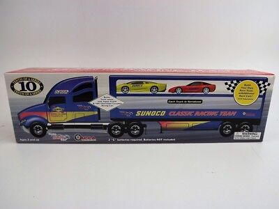 2003 SUNOCO Classic Racing Team 10th Anniversary Truck,Lights &Sounds,Extra Cars