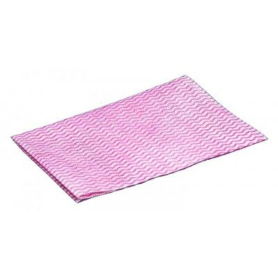 50x Disposable Wiping Cloths Red Cleenol 13915R/50