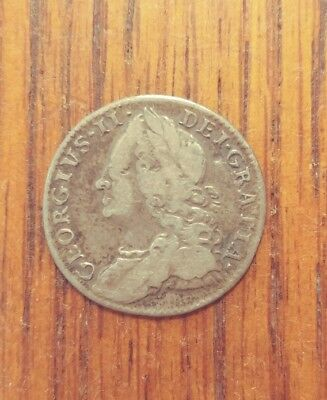 Great Britain 1757 6 Pence