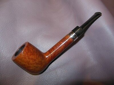 Beautiful Masterbilt Pipe With Sterling Silver Band
