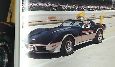 Pace Cars of the Indy 500, Riggs, 284 S.!  Corvette,Mustang,usw.1911-1989