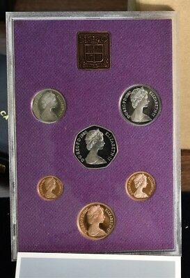 1980 Great Britain Northern Ireland New Pence - 6 Coin Proof Set
