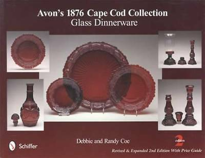 Avon 1876 Cape Cod Glass ID$$ Book Dinnerware Ruby Red