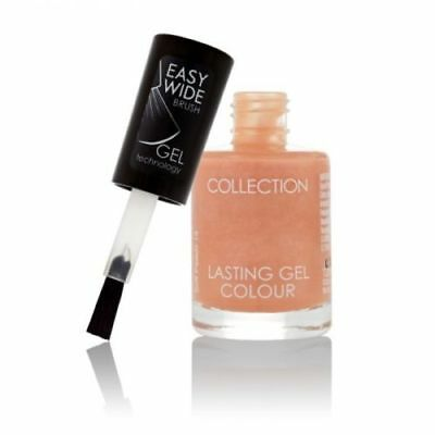 Lasting Colour Gel Nail Polish by Collection Cosmetics Colour 13 Soft Peach