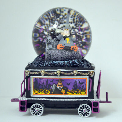 Make Way For The Mayor Water Globe Train 6 Only Nightmare Before Christmas